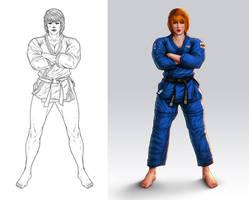 Judo Girl by lordeeas