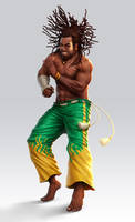 Capoeira Fighter by lordeeas