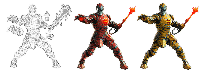 Anton Guffen - Medieval Iron Man