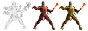 Anton Guffen - Medieval Iron Man by lordeeas