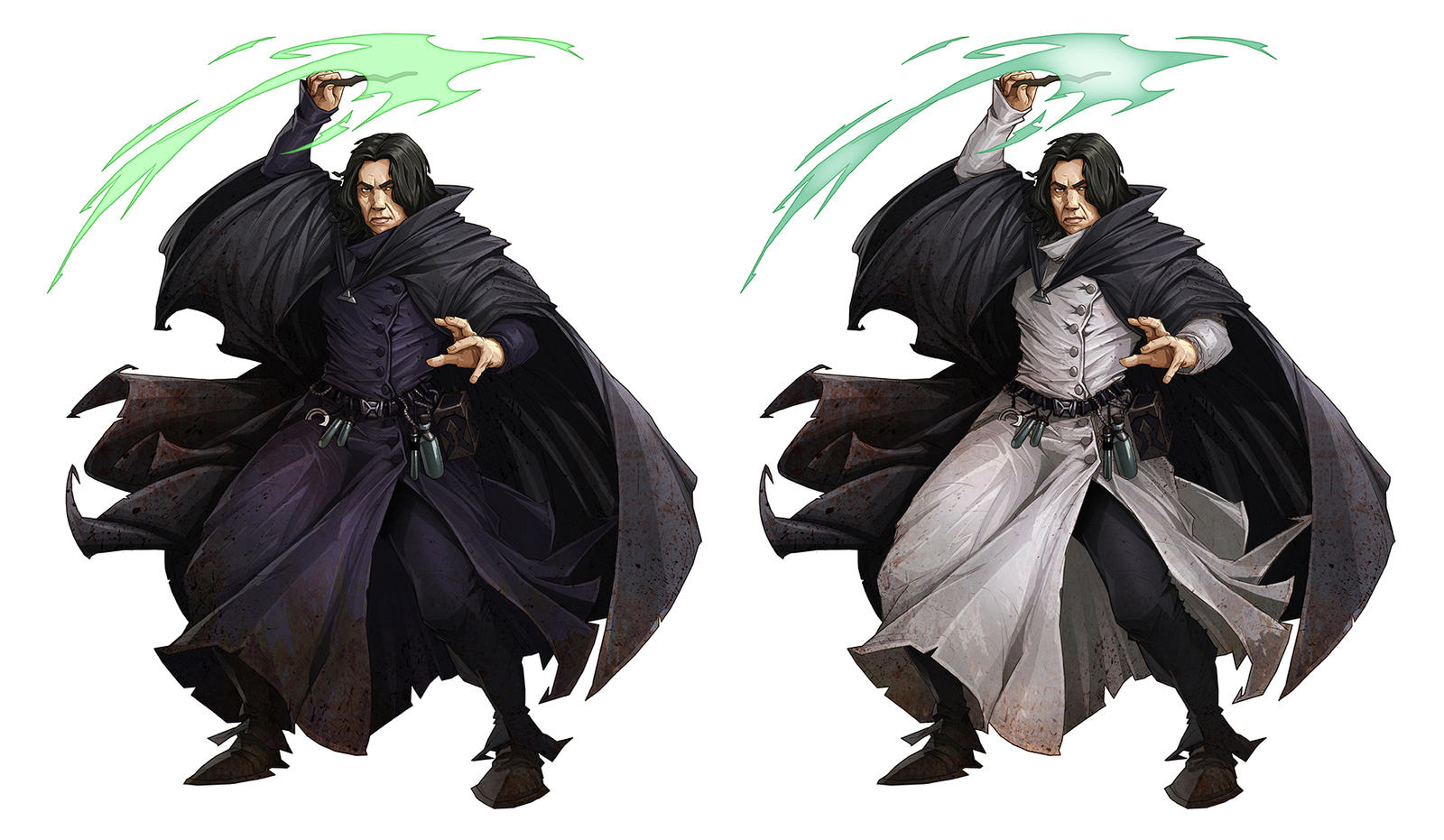 Grayson Gruber - Snape by lordeeas