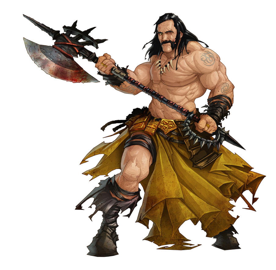 Barbarian Warrior (Lemmy) by lordeeas
