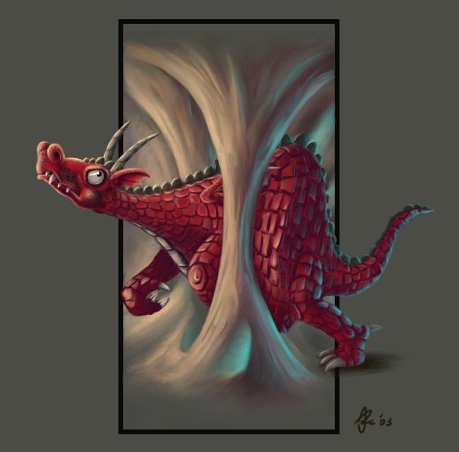 Crveno ... - Page 6 Stupid_Fat_Dragon_Hjort_Pic1