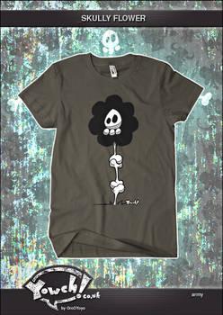 Skully Flower T-Shirt