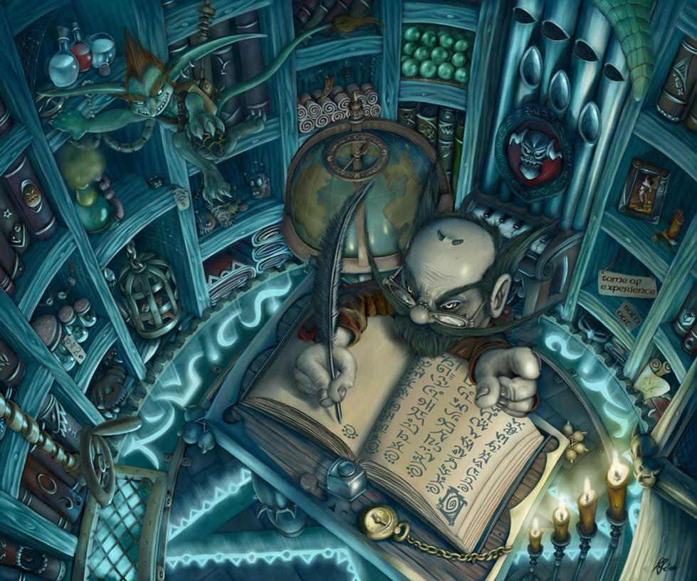 Gnome Warlock Shop -final- by OrcOYoyo