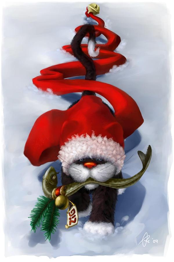 Zigs christmas present by OrcOYoyo