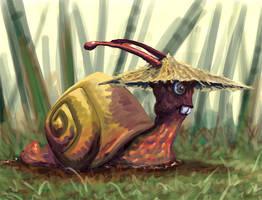 snail speedpainting