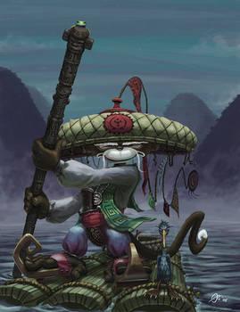 Amaku the Fisherman