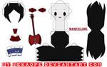 Marceline - Adventure Time [PAPERCRAFT]