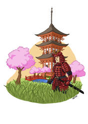 Samurai by Loktarius