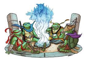 Teenage Mutant Ninja Turtles (Fan Art) by Loktarius