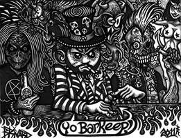 Yo Barkeep by BRUZETOONZ