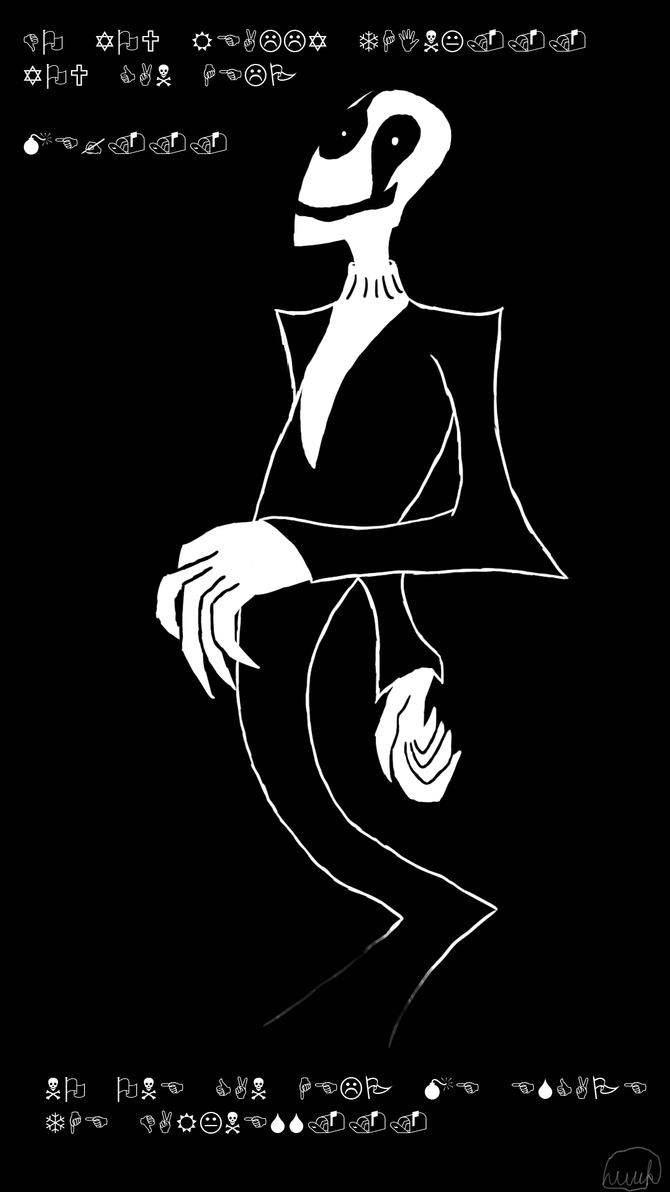 Gaster by luckyboy2308