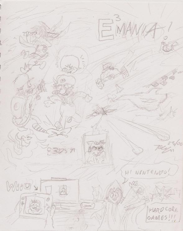 E3-Mania Doodle by xychojack
