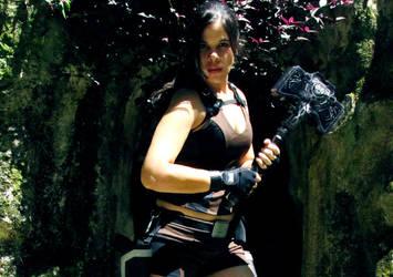 Mjolnir - TRU Thor's Hammer by MoonchildLuiza