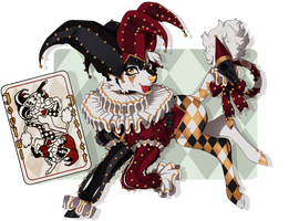 [Minkin] October Auction - The Jester - Closed