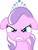 Diamond Tiara - She be Mad by Firestorm-CAN