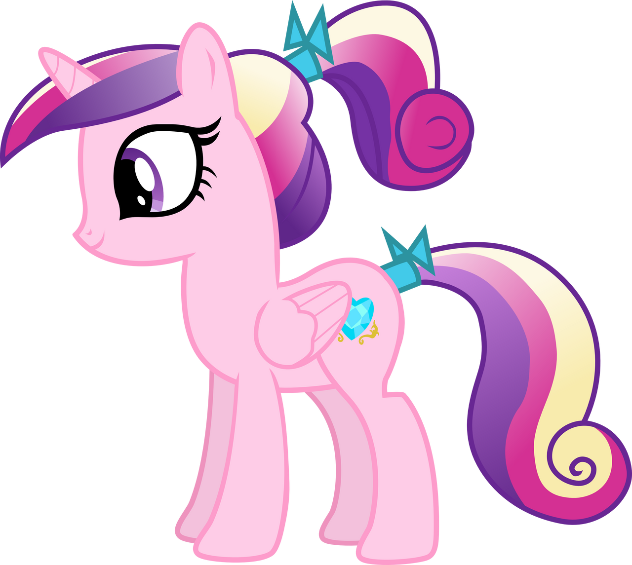 My little pony cadence as a baby