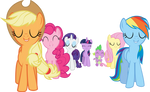 The Mane 6 - Trust Yourself and You Cannot Miss