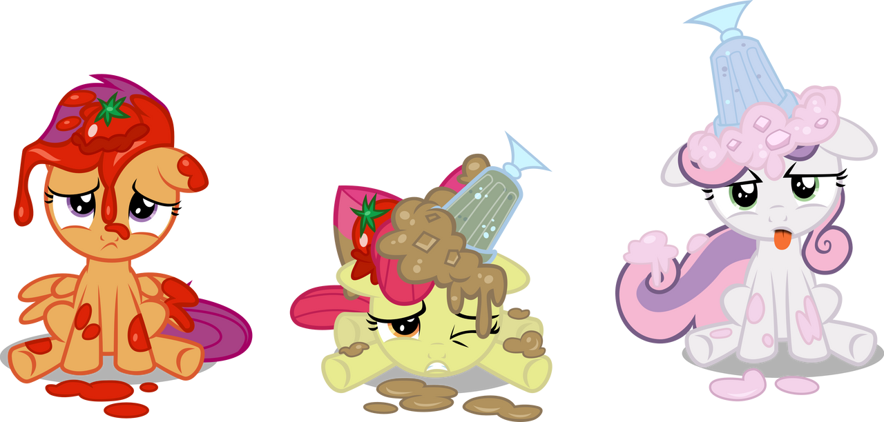 Cutie Mark Crusaders - She Got us Good by Firestorm-CAN