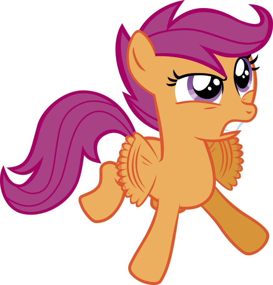 Scootaloo - Wings of Rage by Firestorm-CAN