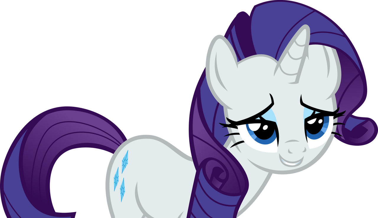 Rarity - She's Got those Eyes Again by Firestorm-CAN