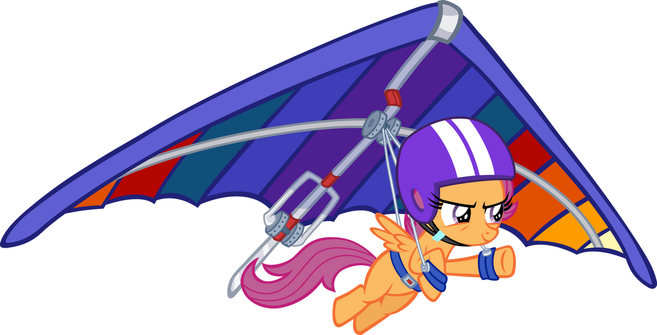 Scootaloo - Gliding to her Dreams by Firestorm-CAN