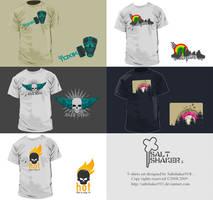 saltshakr911 T-shirt set by saltshaker911