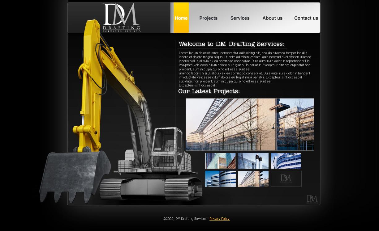 industrial website by saltshaker911 on deviantart