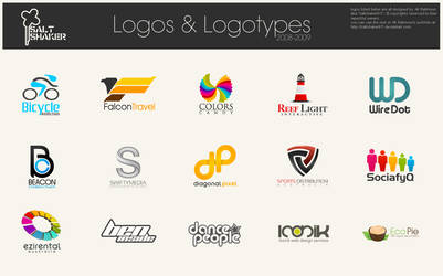 Logos and Logotypes by saltshaker911