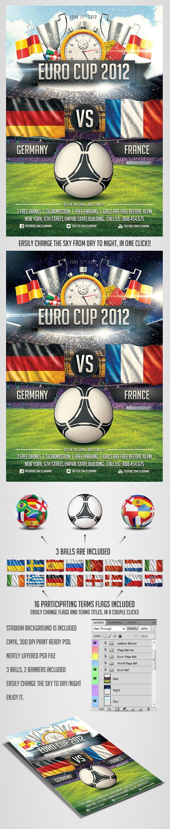 Euro Soccer flyer Vol.2 by saltshaker911