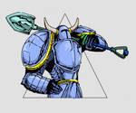 Shovel Knight! by EggsandEggsandEggs