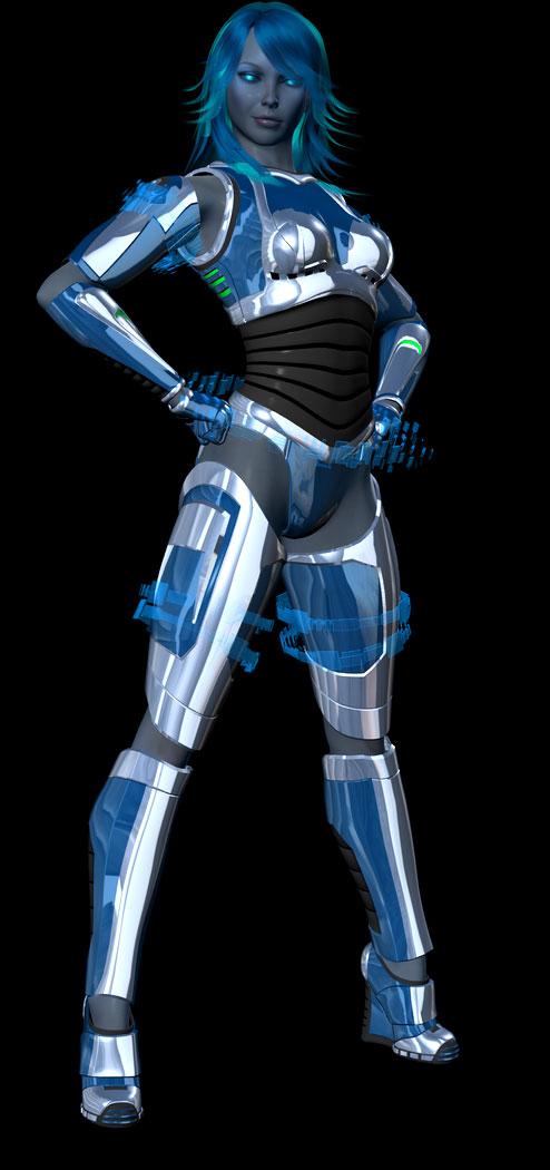 H.E.I.D.I. - Development Shot by TorrynWoodsrunner