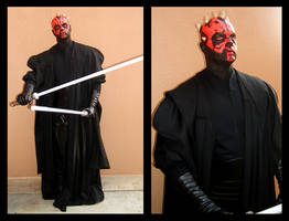 Darth Maul Cosplay by KMCgeijyutsuka