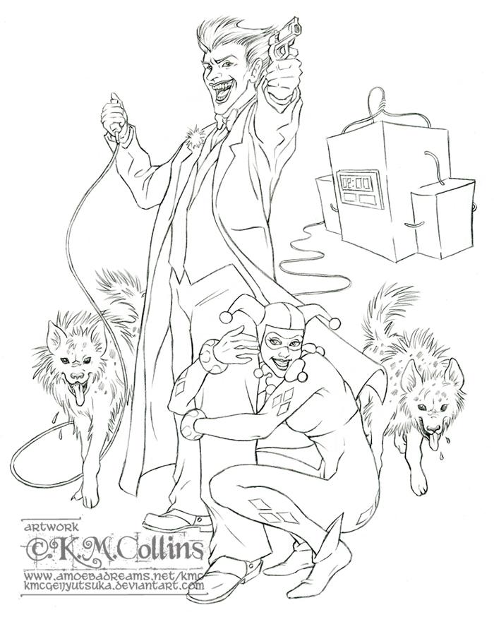 suicide squad coloring pages - photo #19