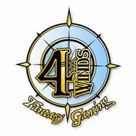 4 Winds Fantasy Gaming Logo by KMCgeijyutsuka