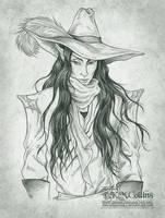 Kaeliss the Hellion Hunter by KMCgeijyutsuka
