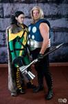 Ultimates Loki and Thor at DragonCon 2013