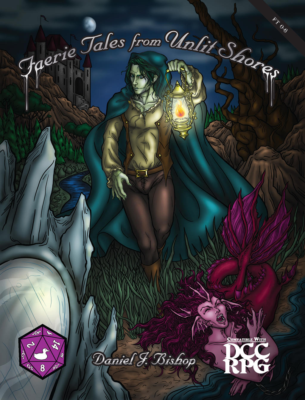 Faerie Tales from Unlit Shores Cover by KMCgeijyutsuka