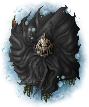 Cloaked Creature for PurpleDuck Games