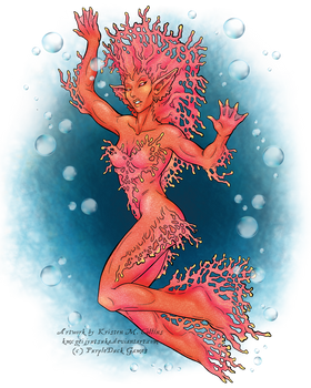 Coral Creature for PurpleDuck Games