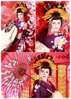 Oiran Keiken Studio Yumekoubou Photoshoot