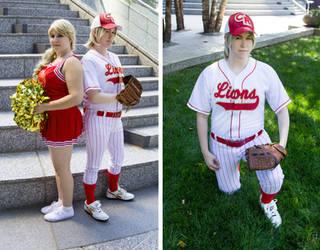 High School Sports AU Jaime and Cersei Lannister by KMCgeijyutsuka