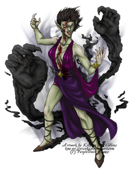 Undead Creature for PurpleDuck Games by KMCgeijyutsuka