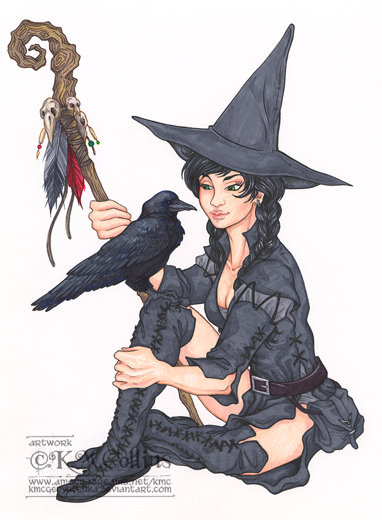 Brooke the Witch by KMCgeijyutsuka
