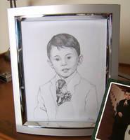 Portrait Luana's Son by KMCgeijyutsuka