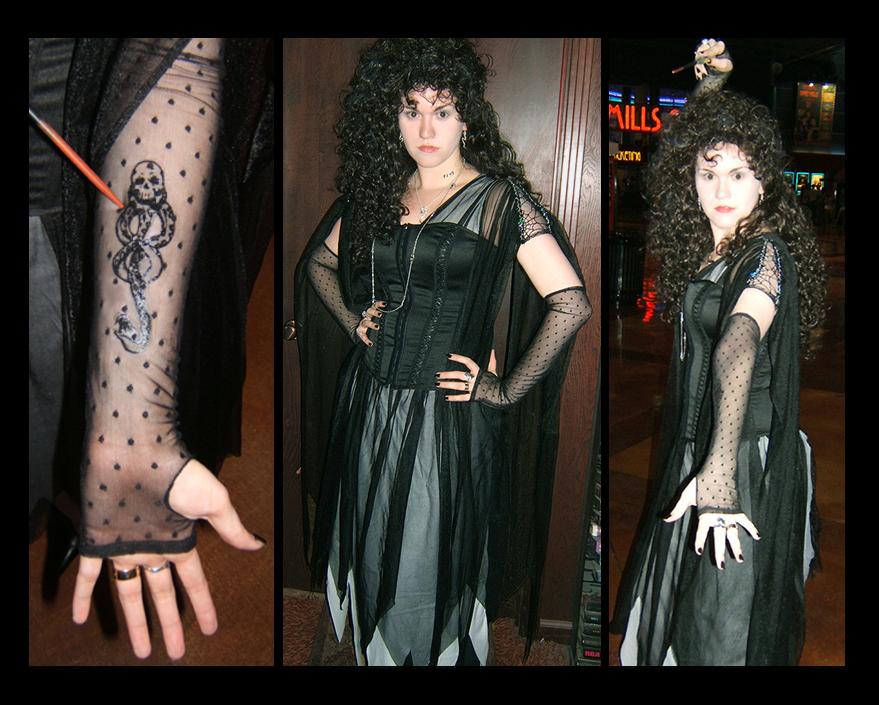 Bellatrix makeup