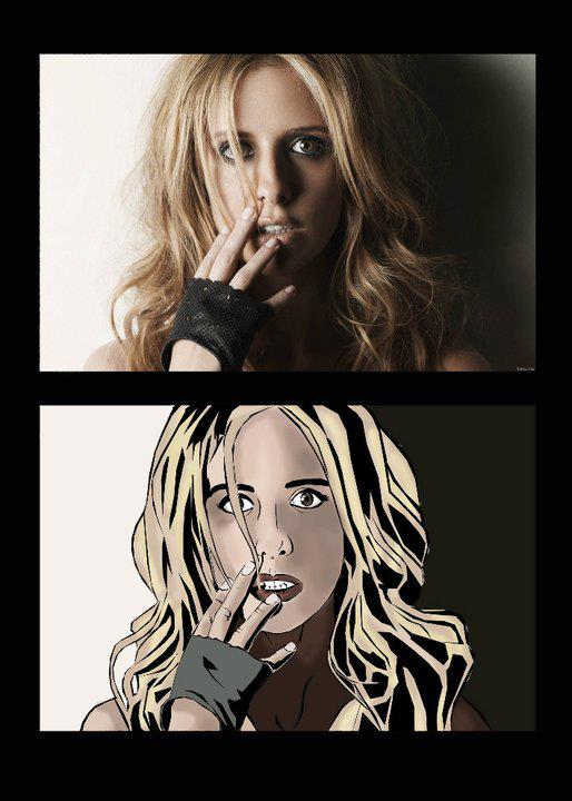 Buffy The Vampire Slayer - comics style by NatPortman