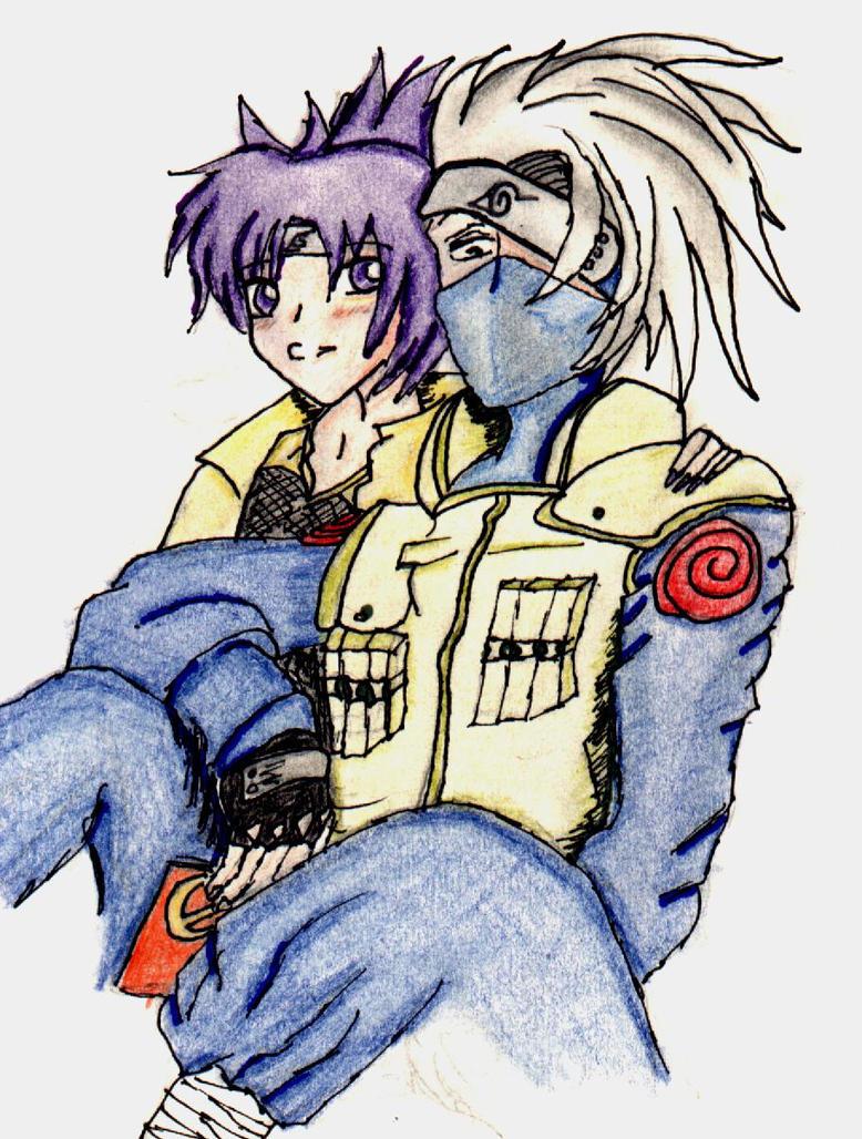 Kakashi and Anko by MercilessHeart on DeviantArt