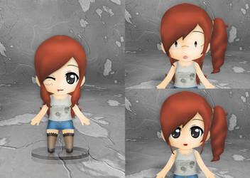 Gamer Alodia Nendoroid by SilverDragonEnvy